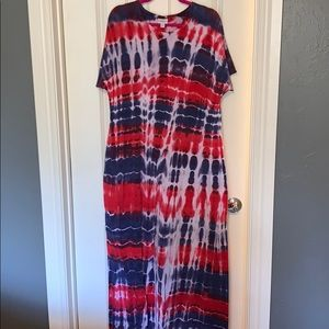 Xl LuLaRoe Maria maxi dress